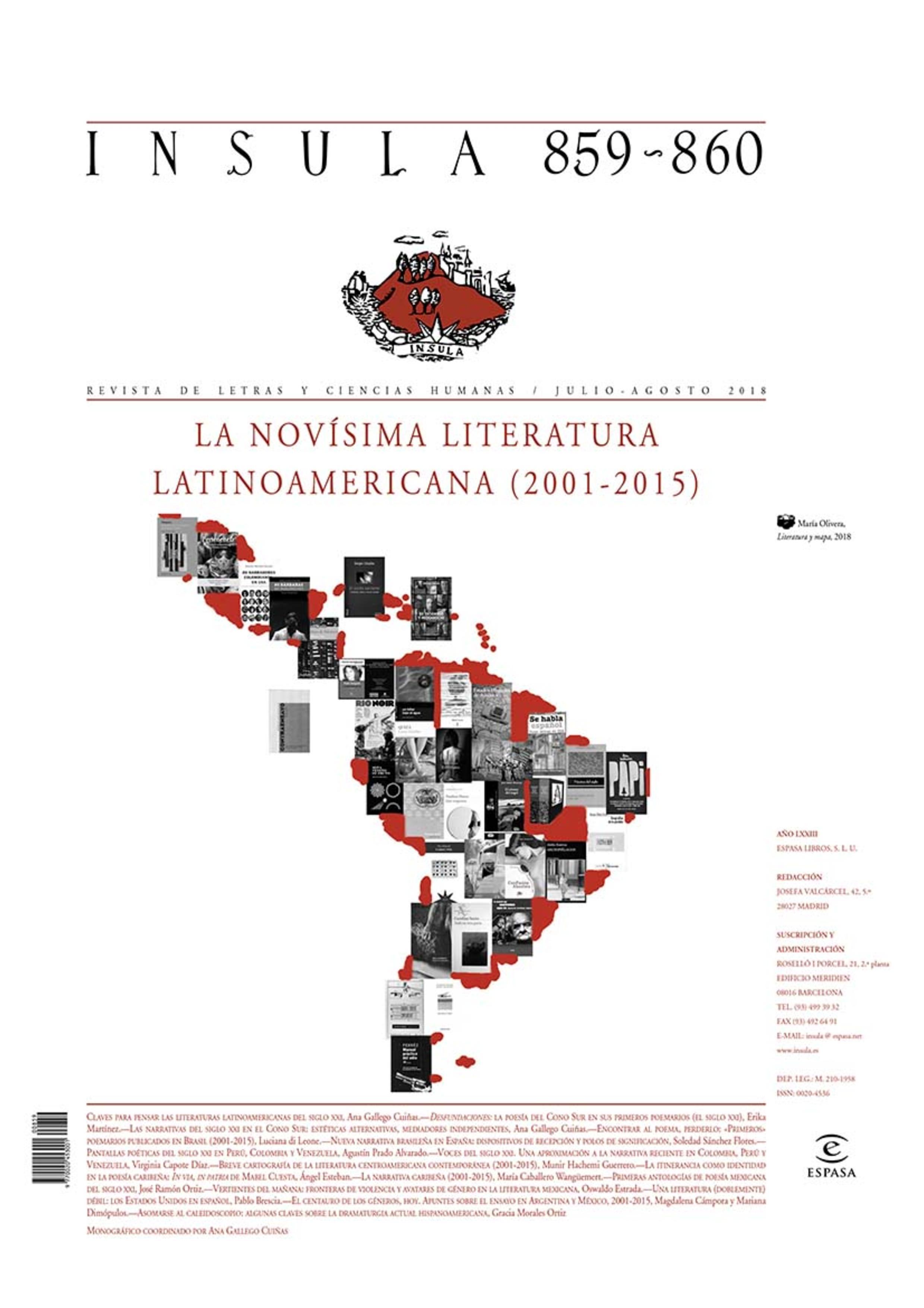 Portada Literatura y mercado global